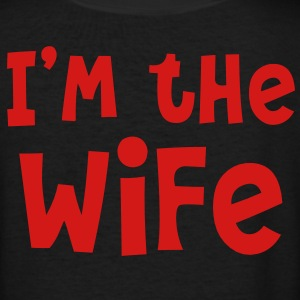 I'm the WIFE Women's T-Shirts - Women's V-Neck T-Shirt