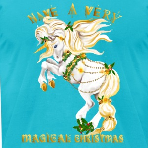 Have A Very Magical Christmas - Men's T-Shirt by American Apparel