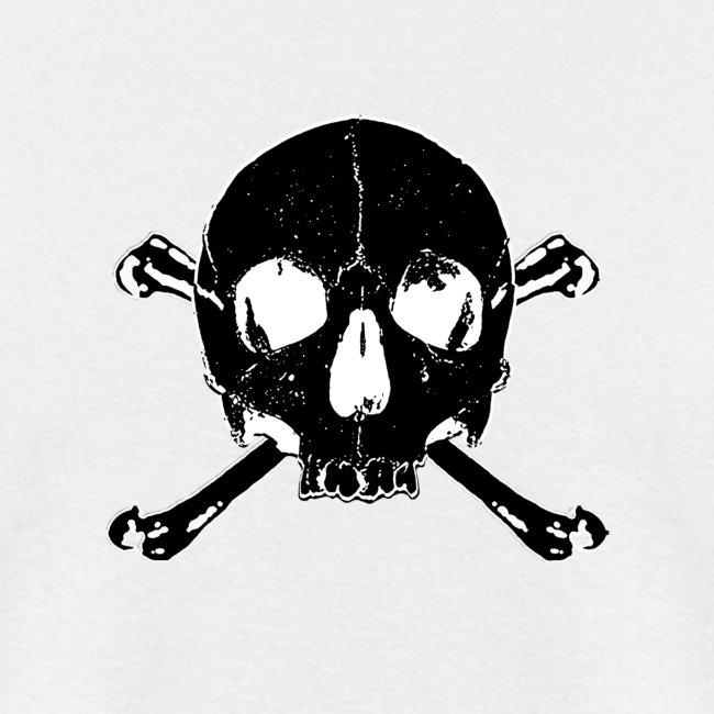 enzo | black skull x bones - skull and bones - Mens T-Shirt