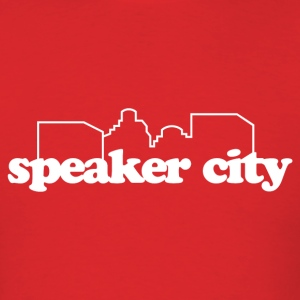 Speaker City T-Shirt - Men's T-Shirt