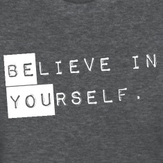 GIRLS Believe in Yourself = Be You Shirt
