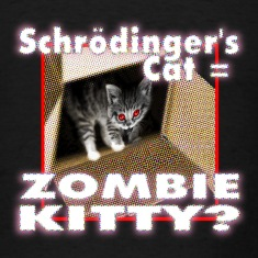 Schrödinger's cat = Zombie Kitty