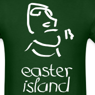 Design ~ Easter Island Moai Ancient Shirt (Text)