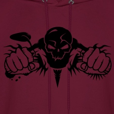 Skull Motorcycle Hoodies