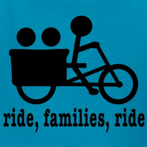 Madsen Ride (lower case) - Kids' T-Shirt