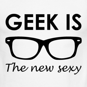 GEEK IS THE NEW SEXY - Men's Ringer T-Shirt