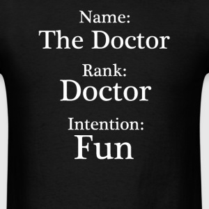 Name Rank Intention T-Shirts - Men's T-Shirt