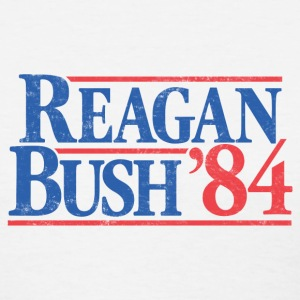 Reagan Bush '84 Vintage T-Shirt - Women's T-Shirt