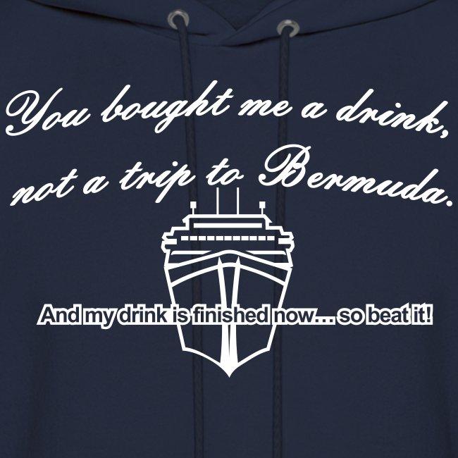 Trip to Bermuda - Men's Hoodie