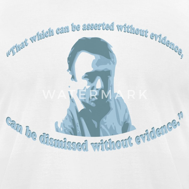 Christopher Hitchens quote - Men's T-Shirt by American Apparel