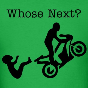 Wheelie Opps Whose Next? - Men's T-Shirt