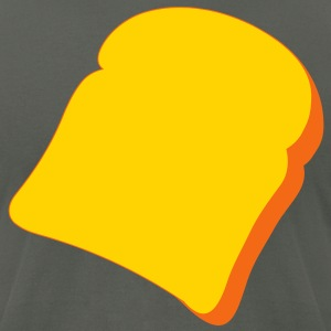 toast T-Shirts - Men's T-Shirt by American Apparel