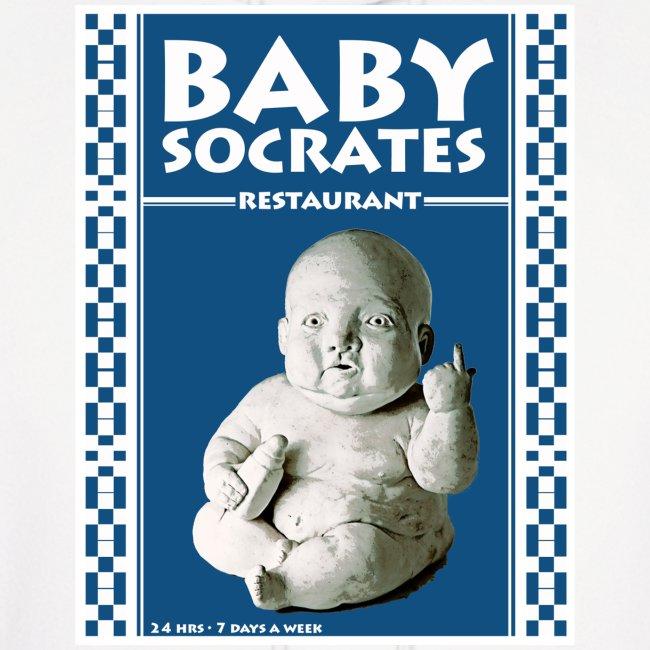 Mens Baby Soc Hoody