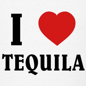 I Love Tequila T-Shirts - Men's T-Shirt