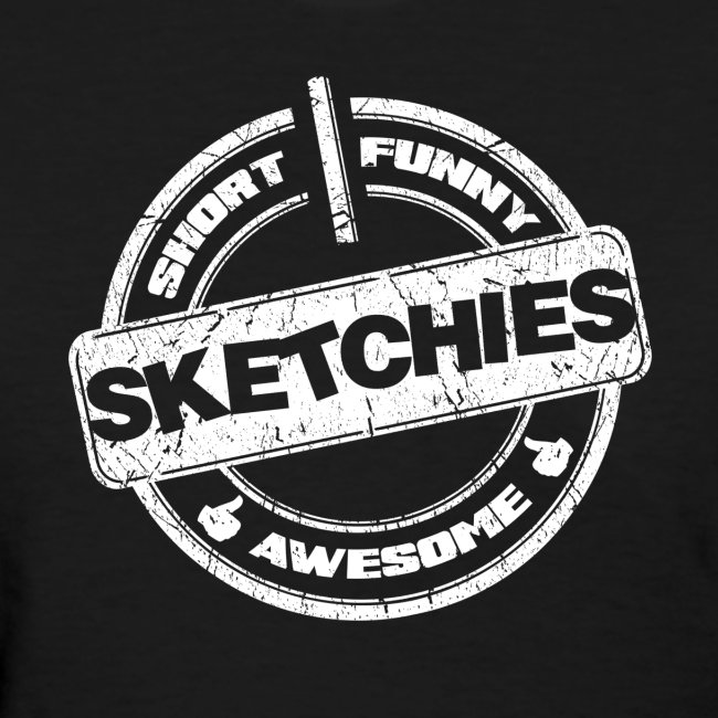 Sketchies Womens T-Shirt