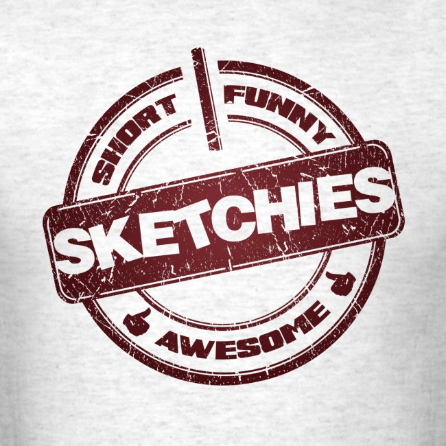 Sketchies Mens T-Shirt