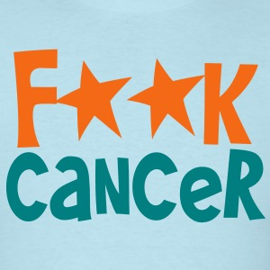 fuck F**K cancer T-Shirts - Men's T-Shirt