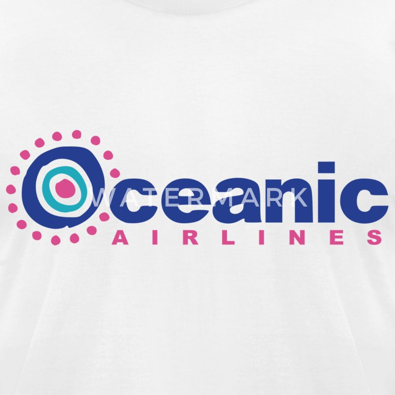 Oceanic Airlines (LOST) - Men's T-Shirt by American Apparel
