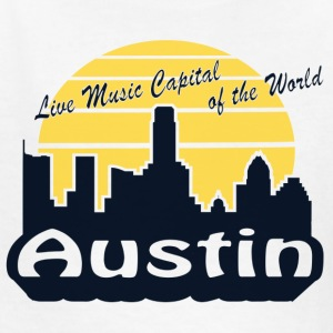 Austin (Live Music Capital of the World) - Kids' T-Shirt