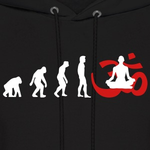 Evolution Yoga Buddhist Meditation Hoodies - Men's Hoodie