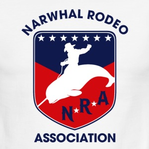 Narwhal Rodeo Association T-Shirts - Men's Ringer T-Shirt