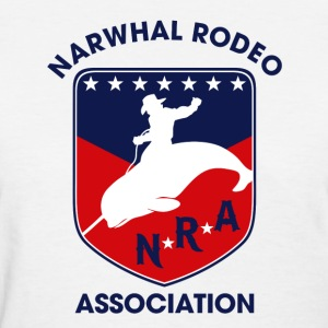 Narwhal Rodeo Association Women's T-Shirts - Women's T-Shirt