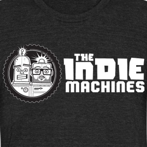 The Indie Machines Shirt - Unisex Tri-Blend T-Shirt by American Apparel