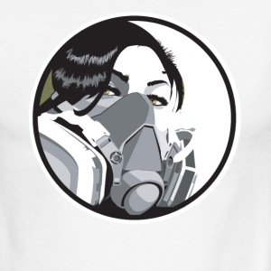 Graf mask - Men's Ringer T-Shirt
