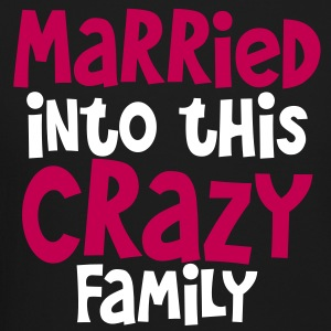 married into this crazy family- good for family picnic! Long Sleeve Shirts - Crewneck Sweatshirt