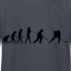 Hockey Evolution - Kids' Long Sleeve T-Shirt