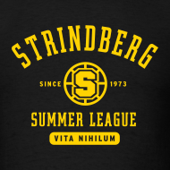 Design ~ August Strindberg Summer League Shirt