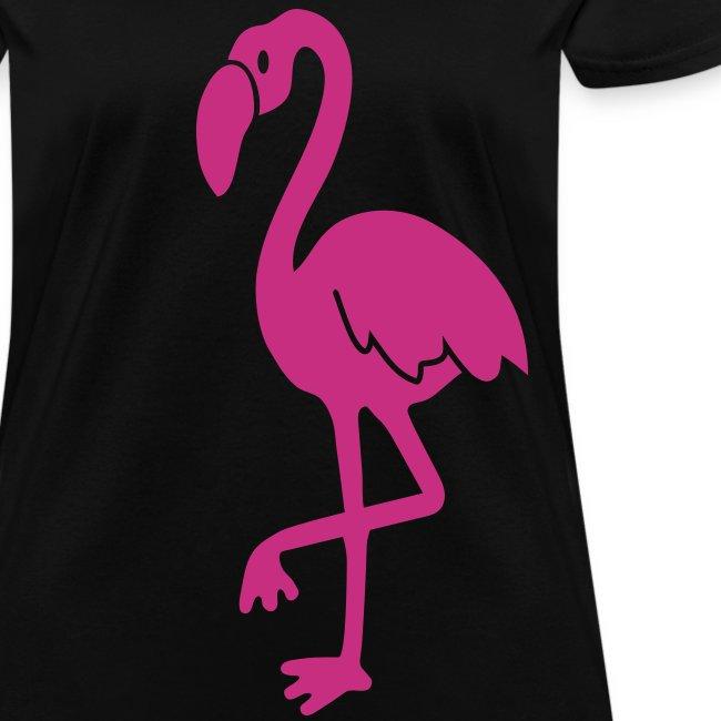 animal t-shirt flamingo pink lagoon laguna bird holiday tropic sunset florida miami