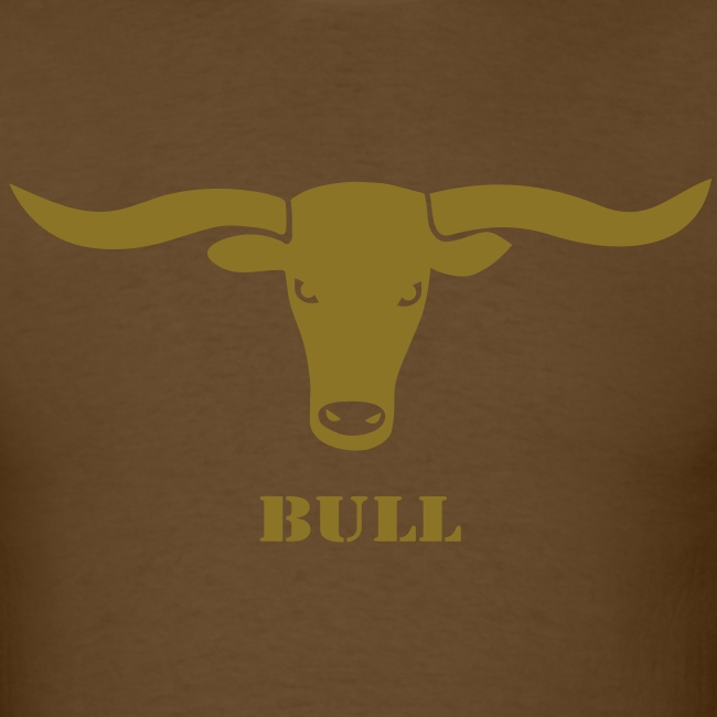 animal t-shirt bull skull ox horn horns bully cow farmer cowboy rodeo hunter texas boy wild west buffalo