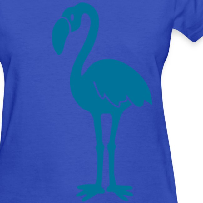 animal t-shirt flamingo pink lagoon laguna bird holiday tropic sunset florida miami