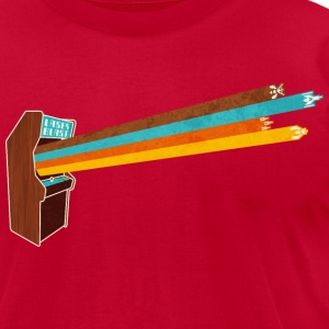 Laserblast T-Shirts - Men's T-Shirt by American Apparel
