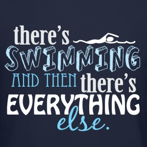 Swimming is Everything Long Sleeve Shirts - Crewneck Sweatshirt