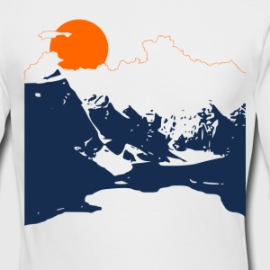 Vintage Mountains - Men's Long Sleeve T-Shirt by Next Level