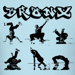 Breakdancing in Bronx T-Shirts - Men's T-Shirt