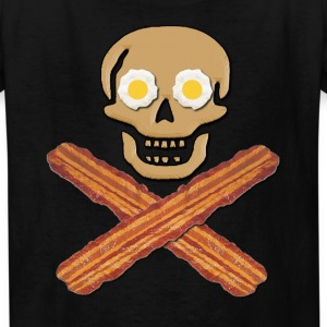 Bacon Pirate Food Kids' Shirts - Kids' T-Shirt