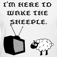 Design ~ Wake the Sheeple (Customizable) Women's