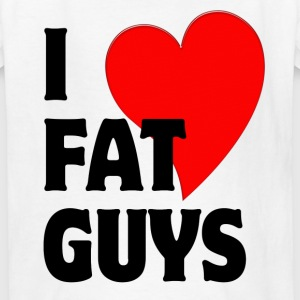 I Love Fat Guys Kids' Shirts - Kids' T-Shirt