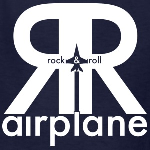 Rock and Roll Airplane - Kids  - Kids' T-Shirt