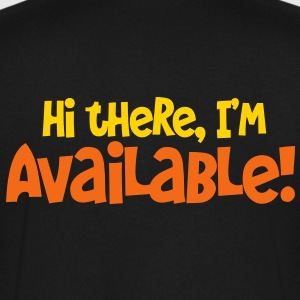 hi  there i'm available T-Shirts - Men's V-Neck T-Shirt by Canvas