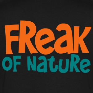 freak of nature T-Shirts - Men's V-Neck T-Shirt by Canvas