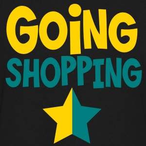 going shopping with a dual star T-Shirts - Men's V-Neck T-Shirt by Canvas
