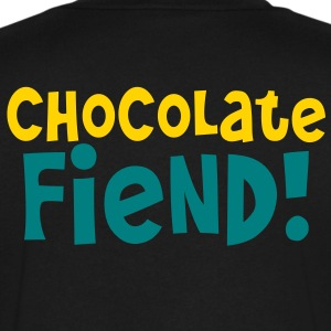 chocolate fiend! T-Shirts - Men's V-Neck T-Shirt by Canvas
