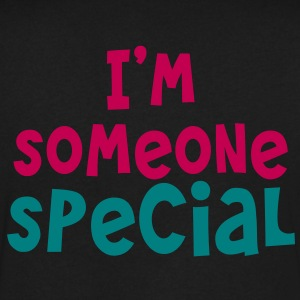 I'm someone special T-Shirts - Men's V-Neck T-Shirt by Canvas