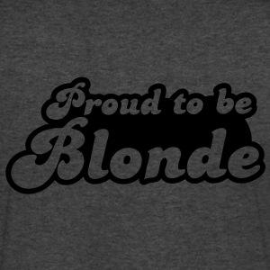 Proud to be Blonde T-Shirts - Men's V-Neck T-Shirt by Canvas