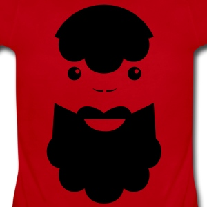 BEARDED MAN Baby Bodysuits - Short Sleeve Baby Bodysuit
