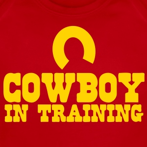 cowboy in training Baby Bodysuits - Short Sleeve Baby Bodysuit